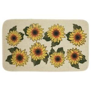 Mohawk Sunny Sunflowers Kitchen Mat Accent Rug