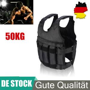 50kg 110LB Gewichtsweste Laufweste Training Fitness Sport Kraft Gewichtsverlust