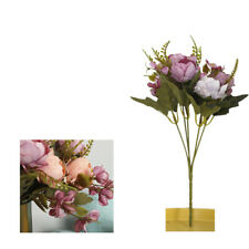 Roses Artificial Flowers Fake Peonies Silk Bouquet Home Wedding Party Decoration