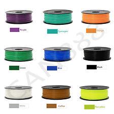 Filamento de la impresora 3D PLA 1.75mm 1kg MakerBot varios colores ES