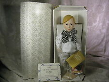 1986 Franklin Mint The Country Store Dolls Ralston Purina Advertising Doll Mib