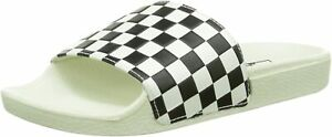 Vans Slide-on, Damen Pantoletten, Weiß (checkerboard/white/black), 38.5 EU