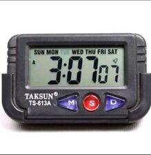 TAKSUN DIGITAL CLOCK, DIGITAL LCD ALARM TABLE DESK CAR