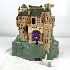 Polly Pocket Harry Potter Hogwarts Deluxe Electronic Playset Mattel 2001 See Vid
