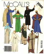 McCall's Sewing Pattern Womens Mens NATIVITY ANGEL CHRISTMAS COSTUMES 2066 SM UC