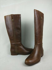 Patricia Nash Carlina Cognac Riding Knee High Boots Women's Size 6.5 M US