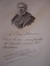 Gravure Portrait de Antoine LUMIERE 1901