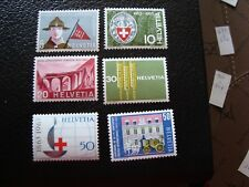 SUISSE - timbre yvert/tellier n° 705 a 710 n** MNH (COL1)
