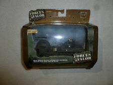 NEW FORCES OF VALOR US M4A1 SHERMAN NORMANDY 1944 DIECAST 1:72 UNIMAX TANK 95024