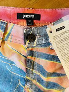 JUST CAVALLI BY ROBERTO CAVALLI JEANS - Multicolored Jeans , Straight Leg, Ss 27