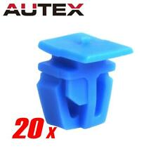 20pcs Body Side Moulding Protector Fastener Clip Nylon Retainer for Acura