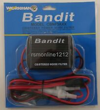 Workman CBNF3AXX CB Radio / Car Stereo 3-Pin Power Cord w/ 20 amp Noise Filter