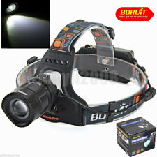 Boruit 1200Lm XM-L T6 LED RJ-2157 Waterproof Zoom Headlamp Head Light Flashlight