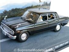 JAMES BOND TOYOTA CROWN YOU ONLY LIVE TWICE MODEL CAR 1:43 BLACK EXAMPLE T32Z