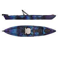 Vibe Sea Ghost 130 13' Pro Fishing Kayak | Rudder + Storage + Premium Seat