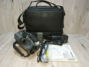 Panasonic VHS-C Palmcorder PV-L511D-K Camera Camcorder Bundle Tested Works