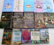 M.C.BEATON- 15 OF HER HAMISH MACBETH + AGATHA RAISIN NOVELS -MOSTLY 1st EDITIONS
