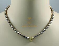 Perlenkette echte Süßwasserperlen Halskette für Damen Gemini Gemstones