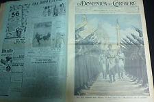 DOMENICA DEL CORRIERE 1937 - -  ANNATA COMPLETA MARCONI- DUCE - RE -