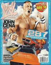 WWE Wrestling Magazine December 2007 John Cena WWF