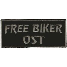 Patch Applicazione Patch 9 x 4 cm MOTORAD Club Gang FREE Biker est 03137