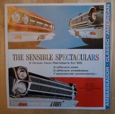AMC Rambler Ambassador Classic & American 1965 brochure - American Motors Corp