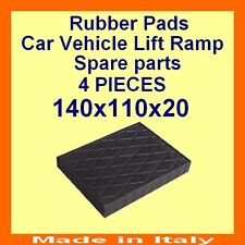 Universal Scissor Lift Pads - H20 - Ramp Rubber Blocks - Made in Italy HQuality-