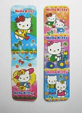 Hello Kitty 2pcs Cardboard Bookmarks 6.5'' lenght (16cm).