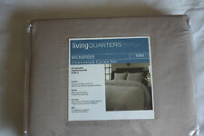 "Duvet Cover Living Quarters 2 Pc Microfiber •Twin: 68x86"" New Nwt Orig $60"