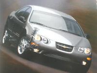 Big 1999 Chrysler 300-M / 300M Brochure / Catalog with Color Chart