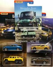 MATCHBOX 2018 MERCEDES-BENZ SERIES COMPLETE SET OF 5 UNIMOG-U300 AMG CLS500 NEW