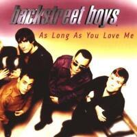 As Long As You Love Me [CD 1], Backstreet Boys, Audio CD, Good, FREE & FAST Deli