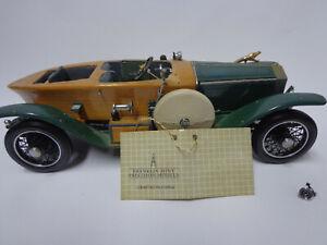 Auto Modell - Franklin Mint 1914 Rolls Royce Silver Ghost Holzkarosserie11242260