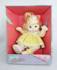Mattel My Child Blue Eyes Blonde Hair #2174 Girl Doll - Never Removed From Box