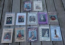 VINTAGE 1990s Halloween Patterns Lot of 10 Witches Scarecrows... + 2 More Free