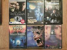 6 Dvd Werewolf lot Silver Bullet Full Eclipse Wolf An American In London Paris