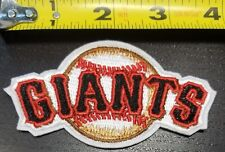 "San Francisco Giants SF 3.75"" MLB Iron/Sew On Patch~FREE SHIPPING FROM U.S.~"