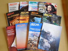 HUGE SALE:   all 12 months of Arizona Magazines from 1984