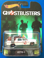 2017 Hot Wheels Retro Entertainment GHOSTBUSTERS ECTO-1 1984 CADILLAC FLEETWOOD!