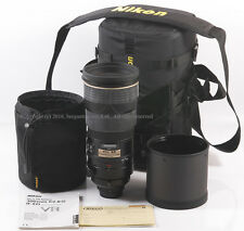 Mint Nikon AF-S VR Nikkor 300mm f/2.8 G  IF ED Telephoto Lens