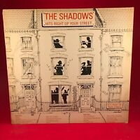 THE SHADOWS Hits Right Up Your Street 1981 UK VINYL LP EXCELLENT CONDITION E