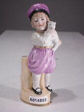 +# A014855 Goebel Archiv Muster Gräfenthal Vase Mädchen mit Katze Cat 14639