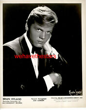 VINTAGE Brian Hyland 60s BRITISH POP SINGER Publicity Portrait