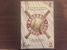 Baseball Mogul 2003 (PC) BRAND NEW SEALED
