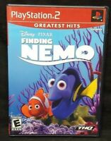 Disney Finding Nemo Pixar - PS2 Playstation 2 Game Tested Working