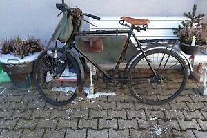 Schweizer Armee Fahrrad Bj.45 mit original Rahmentasche