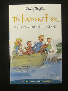 FIVE ON A TREASURE ISLAND (FAMOUS FIVE #1) by ENID BLYTON SC 2009 EXC