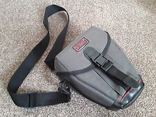 PUNTO Professional Grey Canvas SLR/DSLR Camera Custodia/Borsa A Tracolla