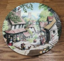 The Village Shop by Robert Hersey The Tale of a Country Village Plate Coalport