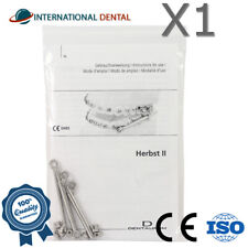 Orthodontic Dental Dentaurum Herbst II With Hexagon Socket Screws Set Appliance